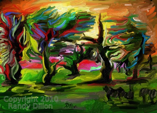 Fine Art Print - Imagining a Real Savannah - © 2010 Randy Dillon. All rights reserved.