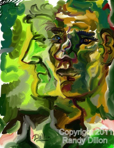 Fine Art Print - Portrait of a Man in August