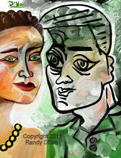 Fine Art Print - The Couple in September