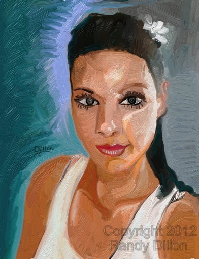 Fine art print - Portrait of Woman in Austin during Summertime