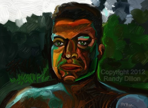 Fine Art Print - Self Portrait at Night in June