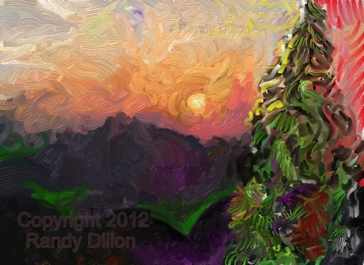 Fine Art Print - Sunset Landscape in September