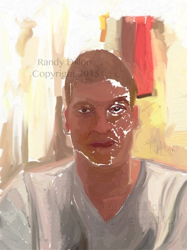 Fine Art Print - Self-Portrait in December