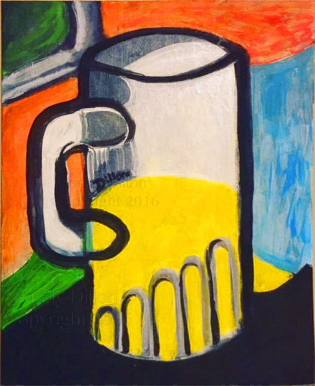 Painting - Mug with Drink