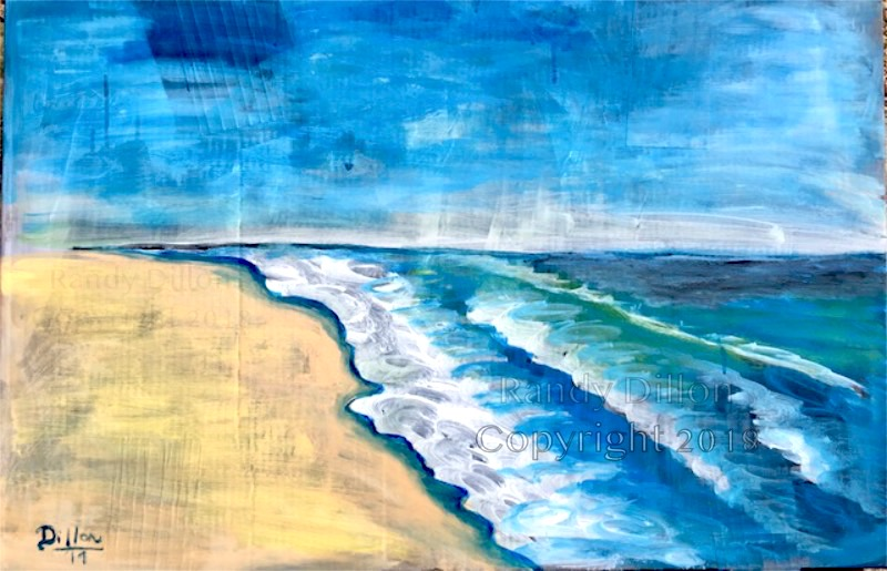 North Carolina Seashore painting